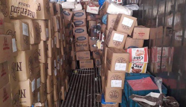 الخليل: الصحة تتلف 14 طنا مواد فاسدة لصناعة الحلوى