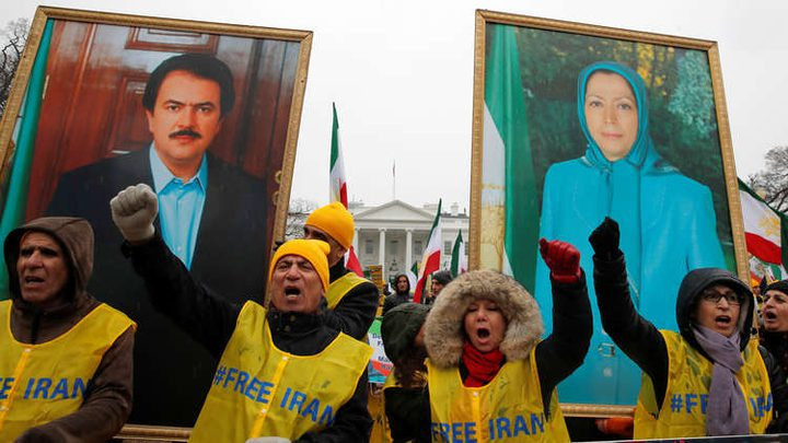 تظاهرة في واشنطن للمطالبة بـتغيير النظام الإيراني