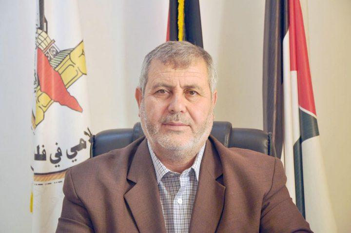 البطش : ندين حادثة إطلاق النار على القيادي بفتح أحمد حلس