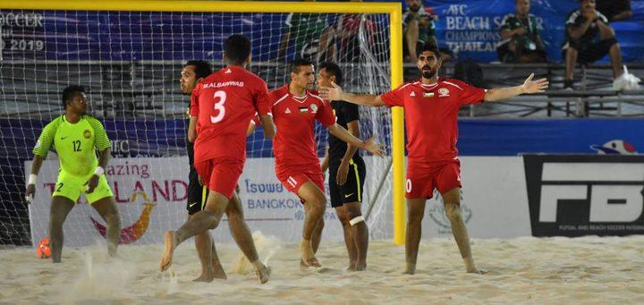 منتخب فلسطين يتأهل إلى نصف النهائي في بطولة آسيا