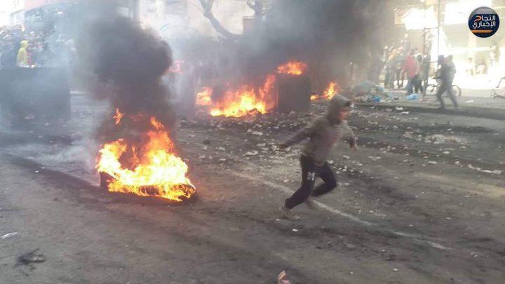 """أمن """"حماس"""" يفرض منع التجول في دير البلح"""
