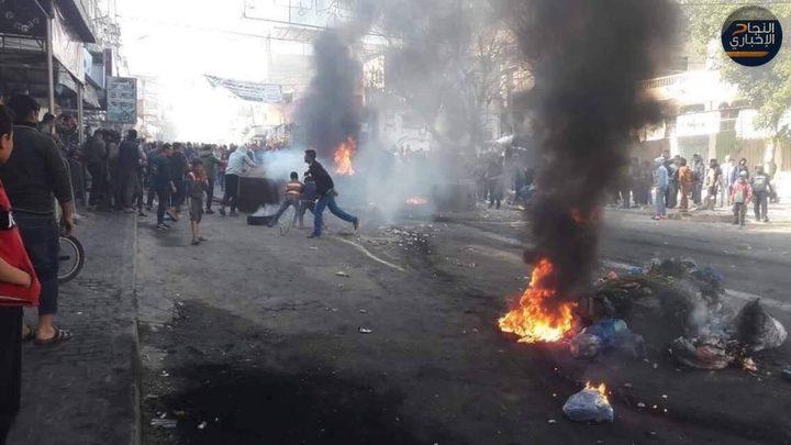 أمن حماس يقمع مسيرات حاشدة تطالب العيش بكرامة
