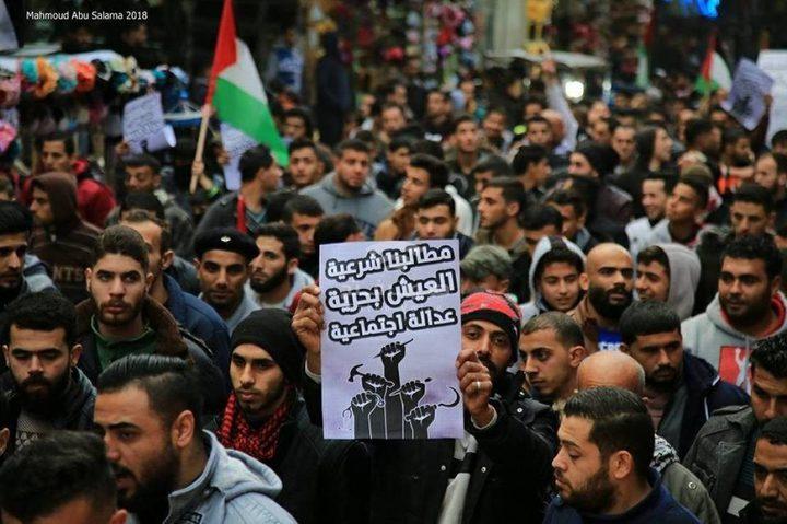 الحراك الشعبي في غزة يدعو إلى التجمع في الميادين والساحات يوميًا