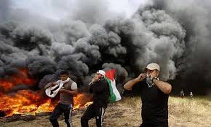 الاحتلال: ثلاثة شبان من القطاع اجتازوا السياج ورفعوا علم فلسطين