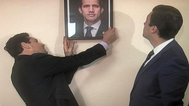 أنصار غوايدو يستولون على مقار دبلوماسية فنزويلية في أميركا