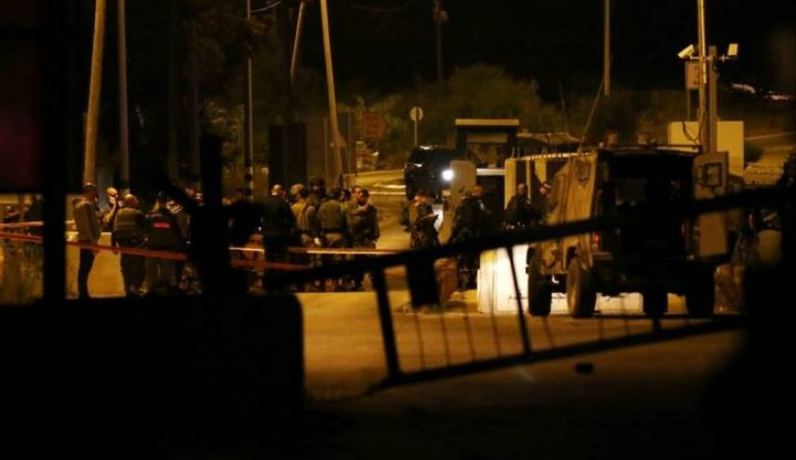 إطلاق نار على جنود الاحتلال في جنين