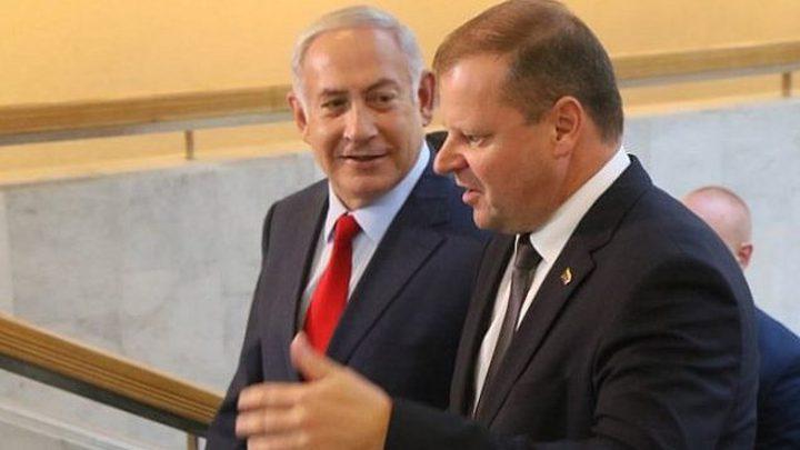 رئيس وزراء ليتوانيا يعد بنقل سفارة بلاده إلى القدس