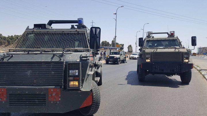 الاحتلال يزعم إطلاق نار على حافلة للمستوطنين شمال سلفيت