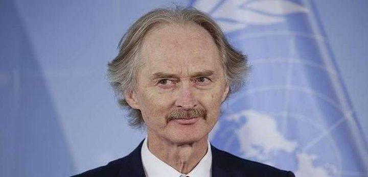 بيدرسون: الطريق إلى سوريا الجديدة يبدأ ببناء الثقة والمصالحة
