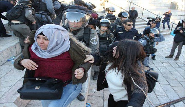 الاحتلال يمنع احتفالا نسويا بيوم الأم وسط القدس