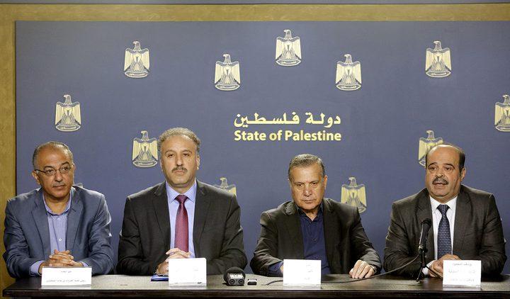 """رام الله: مؤتمر صحفي يستعرض انتهاكات أمن """"حماس"""" بحق الصحفيين"""