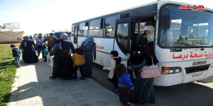 اكثر من 16 الف لاجئ سوري عادوا الى بلادهم منذ افتتاح معبر جابر