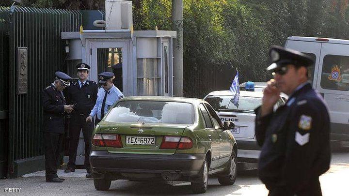 هجوم بعبوة ناسفة على القنصلية الروسية في أثينا