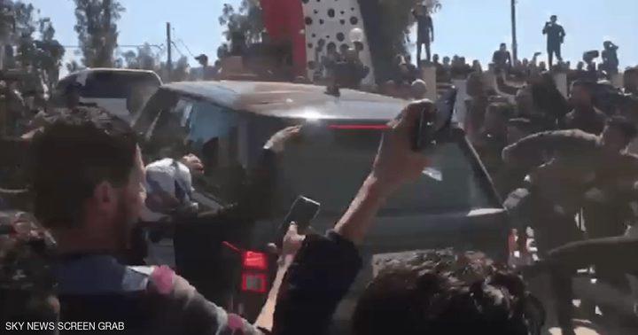 منع موكب الرئيس العراقي من المرور ودهس اثنين من أهالي الضحايا