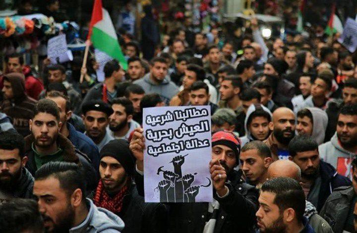 إصابات في صفوف المواطنين باعتداءات أمن حماس وسط قطاع غزة