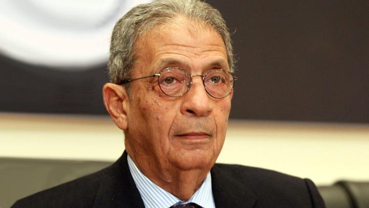 """عمرو موسى: لا سيادة لـ """"إسرائيل"""" على الجولان"""