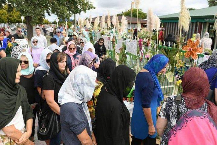 فلسطين تشارك في تشييع شهداء الاعتداء الإرهابي في نيوزيلندا