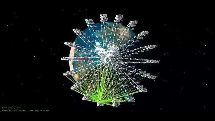 رصد أموال إضافية لشبكة الإنترنت العالمية الفضائية