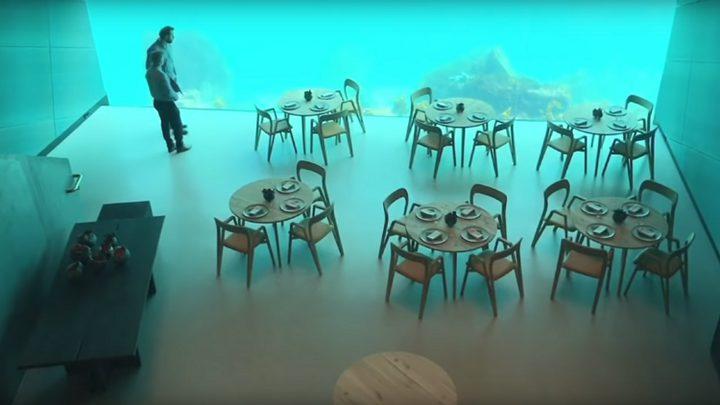 النرويج تفتتح أكبر مطعم مغمور تحت الماء في أوروبا