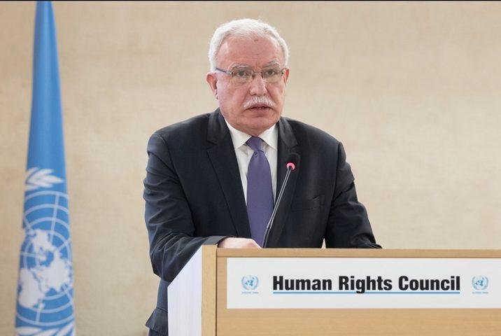 المالكي: اعتماد قرارات فلسطين في مجلس حقوق الإنسان انتصار للعدالة