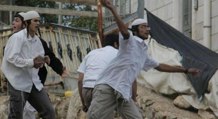 مستوطنون يعتدون على مواطنة ونجلها في الخليل