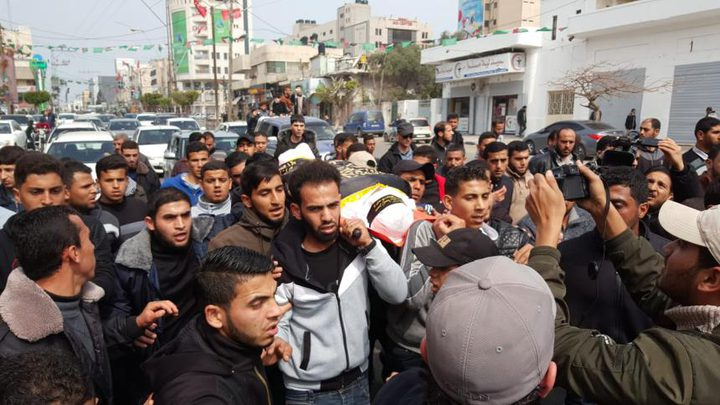 غزة تشيع شهيديها