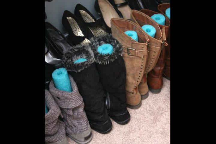 الصيف على الأبواب.. اعرفى الطريقة الصحيحة لتخزين الأحذية الشتوى