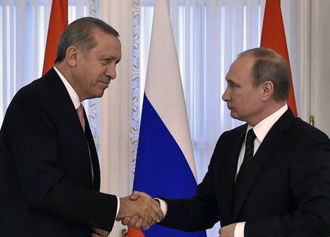 بوتين يلتقي أردوغان الشهر القادم في روسيا
