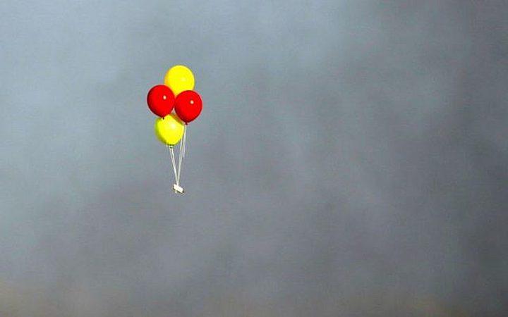 الاحتلال يزعم سقوط عدد من البالونات الحارقة بمستوطنة سدوت النقب