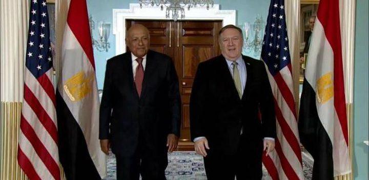 وزير الخارجية المصري يزور واشنطن غداً للقاء بومبيو