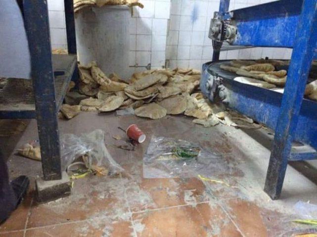 """""""الصحّة"""" تغلق مخبزاً في الخليل مخالف للشروط الصحية"""
