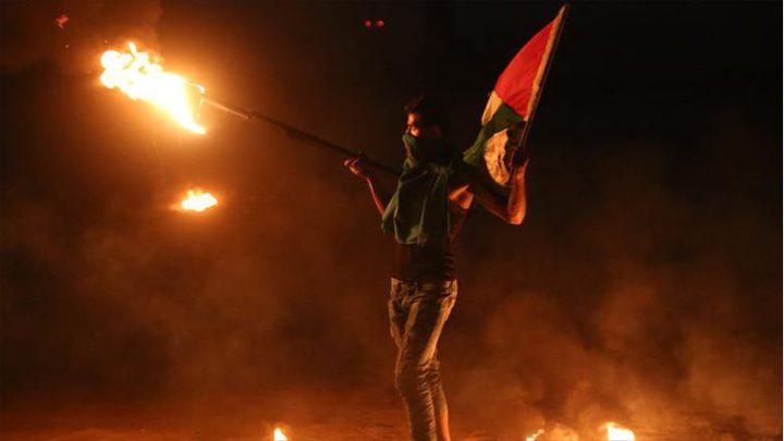 """إصابات جراء استهداف الاحتلال لوحدات """"الارباك الليلي"""" شرق غزة"""