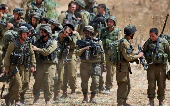 الاحتلال يدفع بقوات إضافية على حدود غزة