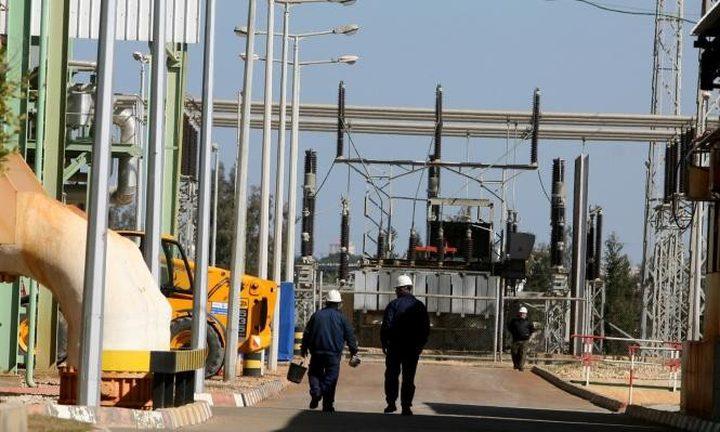 توقف مولد عن العمل في محطة كهرباء غزة