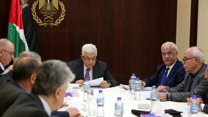 الرئيس: لا شرعية لأي قرار يمس السيادة الفلسطينية على أية أرض
