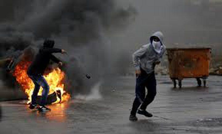 اصابات خلال مواجهات مع الاحتلال على مدخل البيرة الشمالي