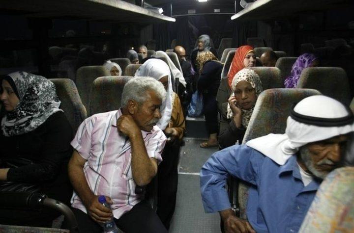 الاحتلال يمنع أهالي أسرى محافظة جنين من زيارة أبنائهم في النقب