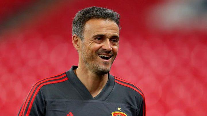 غياب مدرب إسبانيا عن مواجهة مالطا لأسباب عائلية