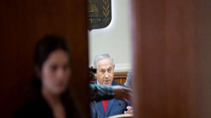 نتنياهو يعقد اجتماع خاص لتقييم التصعيد العسكري على قطاع غزة