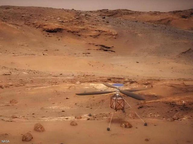 """ناسا """"تستعرض"""".. مروحية إلى المريخ في 2020"""