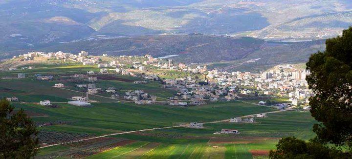 """الاحتلال يخطر بوقف العمل في """"بركس"""" وخزان مياه شرق طوباس"""