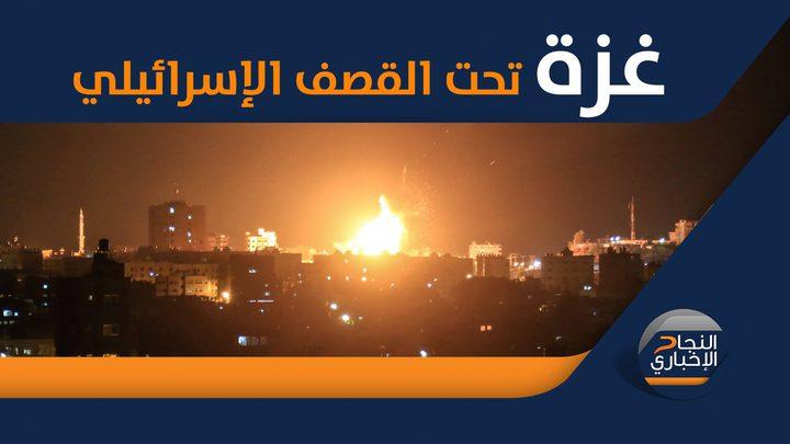 طائرات الاحتلال تشن عدة غارات جنوب قطاع غزة