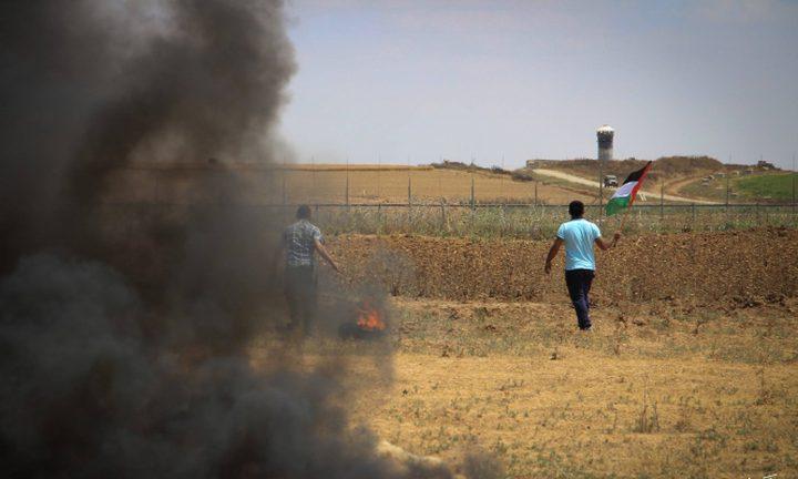 إصابة شاب برصاص الاحتلال شرق مخيم البريج
