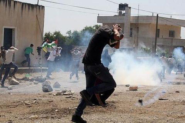 اصابتان في مواجهات مع الاحتلال على مدخل مخيم الجلزون