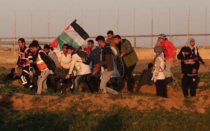 إصابة شاب برصاص الاحتلال شرق البريج وسط القطاع