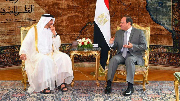 رفض مصري إماراتي للتدخل الخارجي في الشؤون العربية