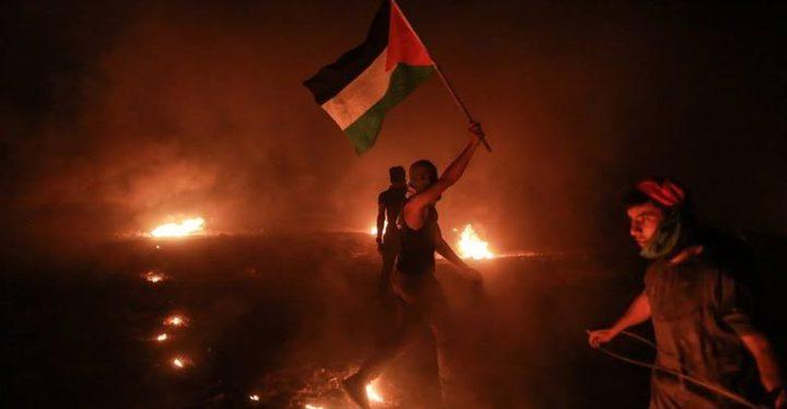 """بدء فعاليات """"الارباك الليلي"""" على الحدود الشرقية لقطاع غزة"""