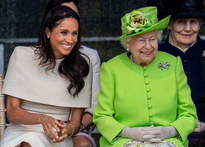 الملكة لا تثق بميغان ماركل وتضعها تحت المراقبة سراً