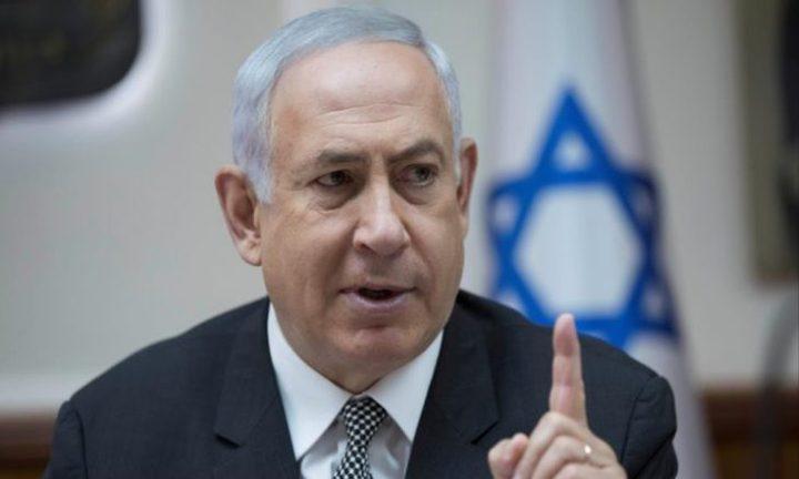 نتنياهو: لن نقبل بإدخال صواريخ إيرانية دقيقة إلى سوريا