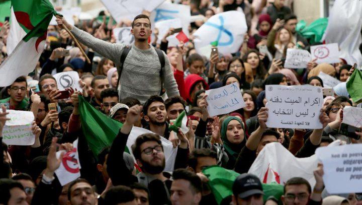 احتجاجات الجزائر تتوسع لتصل الى كافة النظام السياسي